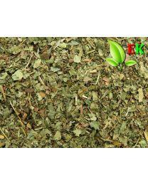 Aardbeiblad  Extra kwaliteit 250 gram (ten minsten houdbaar tot 08-2019)