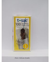 Tea bags size 1 100 pieces per package