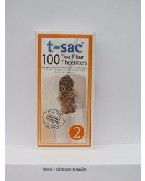 Tea bags size 2 100 pieces per package