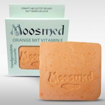 Moosmed-Naturseife Orange mit Vitamin E 100gram
