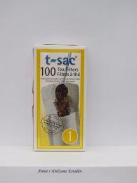 Theezakjes maat 1-100 stuks